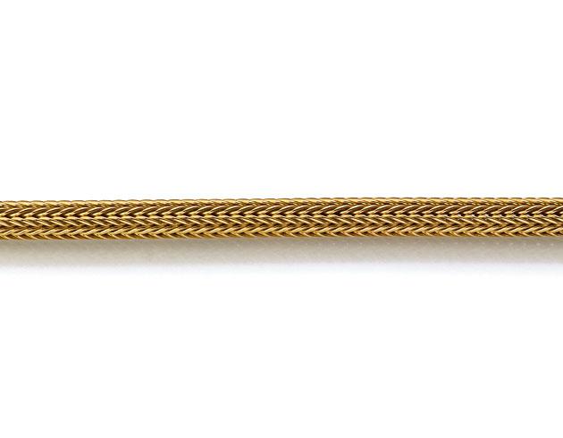 Produktbild Goldkette Foxschlauch rund