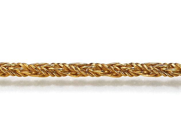 Produktbild Goldkette Fuchsschwanz gedreht